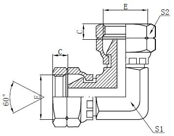 Adaptorul BSP de la flanșă