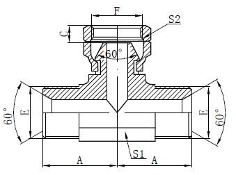 BSP Teava hidraulică Desen