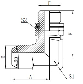 Inel O-inel B din oțel inelabil reglabil