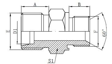 Captive adaptoare adaptor de etanșare