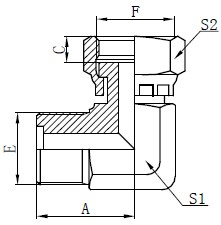 Mecanisme de inel masculin metrice Desen
