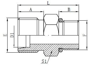 Inel O-ring Conectori furtunuri Desen