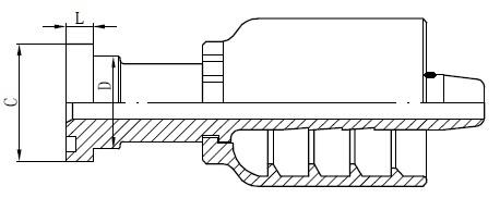 Racordul tubului tubular SS