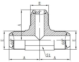 Câștigător Standard AK Fitting Drawing